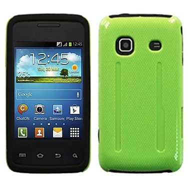 Insten Natural Fusion Protector Case For Samsung M820 Galaxy Prevail, Pearl Green/Black (1009467)