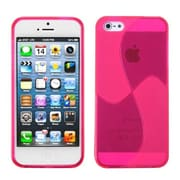 Insten® Argyle Candy Skin Cover F/iPhone 5/5S, Pink Windmill