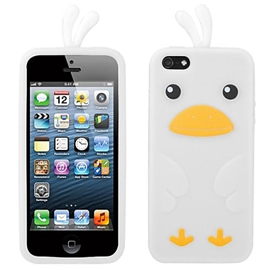 Insten® Pastel Skin Cover F/iPhone 5/5S, White Chick
