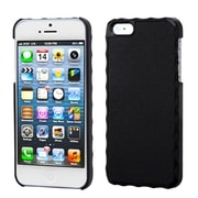 Insten® Alloy Executive Back Protector Cover F/iPhone 5/5S, Vertical Plaid Lizzo Black Plaid