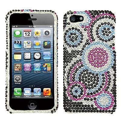 Insten® Diamante Protector Cover F/iPhone 5/5S; Bubble
