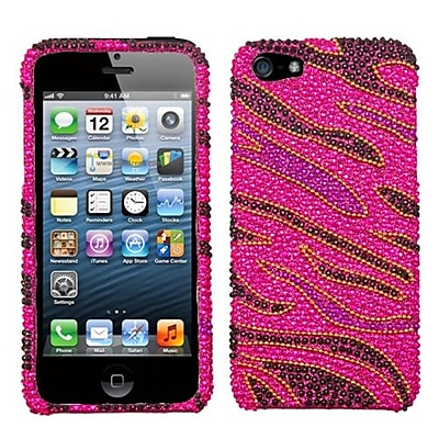 Insten® Diamante Phone Protector Cover F/iPhone 5/5S, Rocker