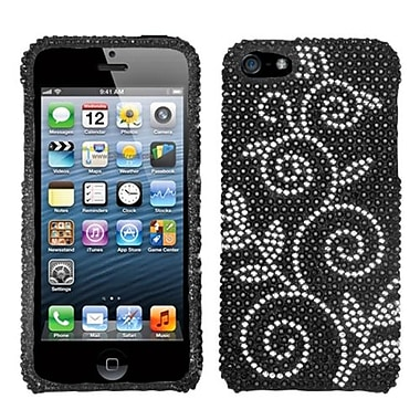 Insten® Diamante Phone Protector Cover F/iPhone 5/5S, Dark Wonderland