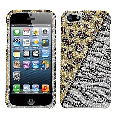 Insten Diamante Phone Protector Cover For iPhone 5/5S, Hottie (1009844)