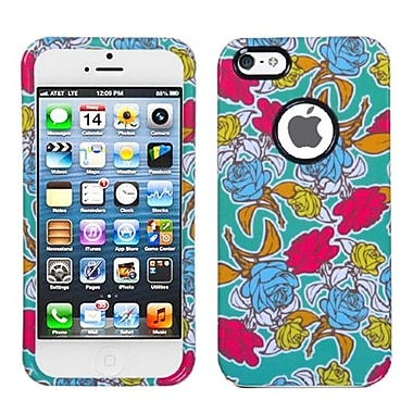 Insten® Phone Protector Cover W/Decorative Rings F/iPhone 5/5S, Rose Garden