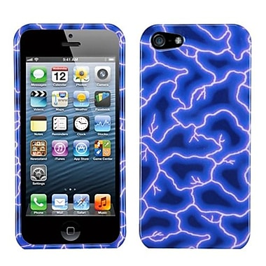 Insten® Phone Protector Cover F/iPhone 5/5S, Blue Lightning