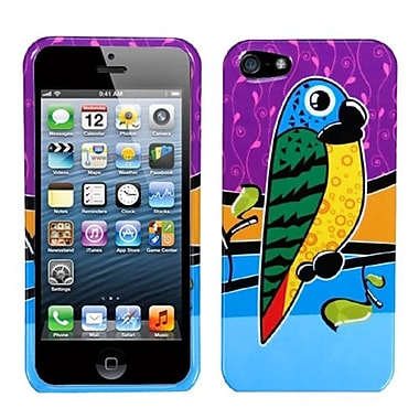 Insten® Phone Protector Cover F/iPhone 5/5S, Tropical Parrot