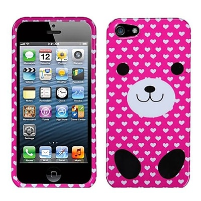 Insten® Phone Protector Cover F/iPhone 5/5S; Dog Love