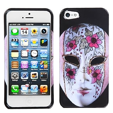 Insten Phone Protector Cover For iPhone 5/5S, Intellectual Beauty Mask (1009932)