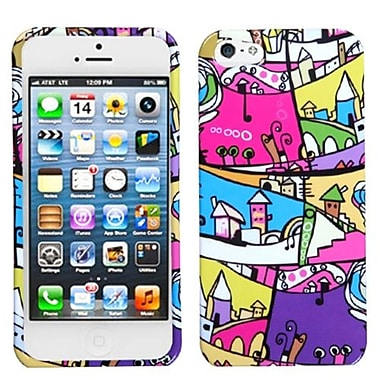 Insten Phone Protector Cover For iPhone 5/5S, Foreign Buildings (1009934)