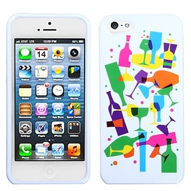 Insten® Phone Protector Cover F/iPhone 5/5S, Cosmopolitan Drinks