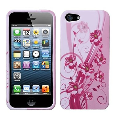 Insten Phone Protector Cover For iPhone 5/5S, Blooming Lily (1009945)