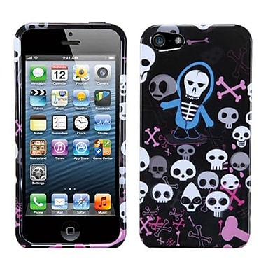 Insten® Phone Protector Cover F/iPhone 5/5S, Swag Skulls