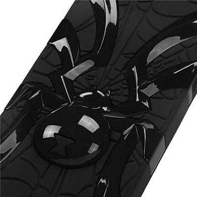 Insten® Spiderbite Hybrid Protector Cover F/iPhone 5/5S, Solid Black/Black