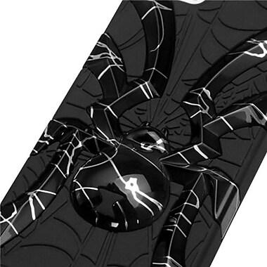 Insten® Spiderbite Hybrid Protector Cover F/iPhone 5/5S, d Lines Black/Black