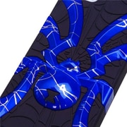 Insten® Spiderbite Hybrid Protector Cover F/iPhone 5/5S, d Lines Dark Blue/Black