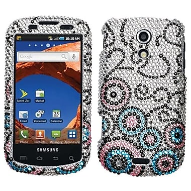 Insten® Diamante Protector Case For Samsung D700 (Epic 4G), Bubble Flow