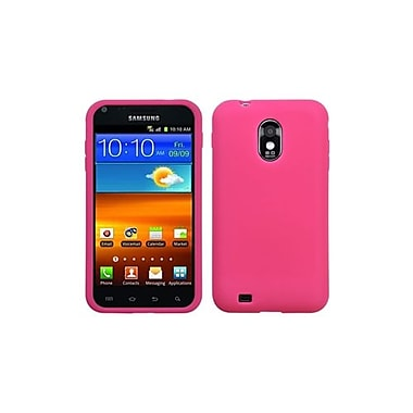 Insten® Skin Case For Samsung Epic 4G Touch/Galaxy S II, Solid Hot-Pink