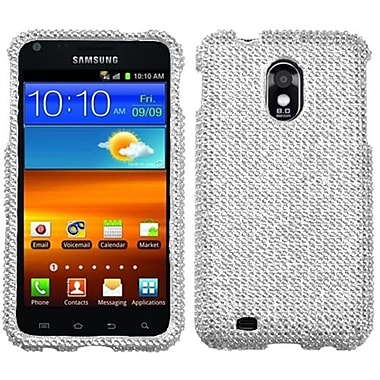 Insten® Diamante Protector Case For Samsung Epic 4G Touch/Galaxy S II, Silver