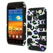 Insten® Phone Protector Case For Samsung Epic 4G Touch/Galaxy S II, Black Colorful Leopard/Fishbone