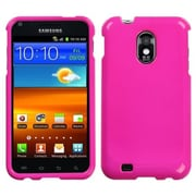 Insten® Phone Protector Case For Samsung Epic 4G Touch/Galaxy S II, Solid Shocking Pink