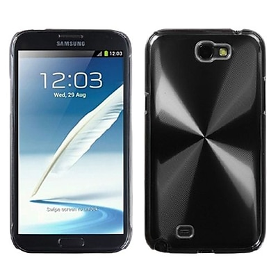 Insten® Cosmo Back Protector Case For Samsung Galaxy Note II (T889/I605), Black