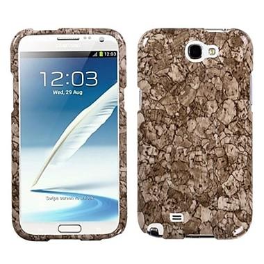 Insten ? Étui protecteur pour le téléphone Galaxy Note II de Samsung, pierre craquelée (1010578)