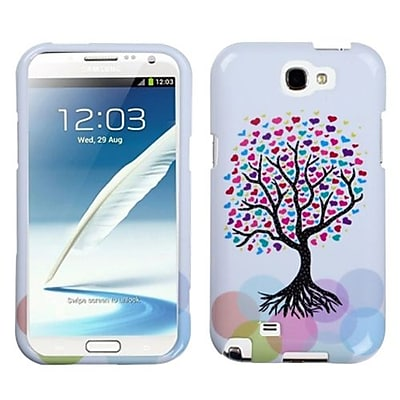 Insten® Phone Protector Case For Samsung Galaxy Note II (T889/I605); Love Tree