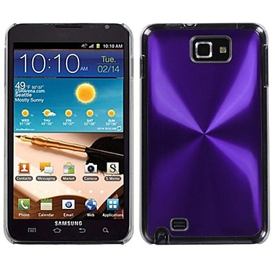 Insten® Cosmo Back Protector Case For Samsung Galaxy Note; Purple