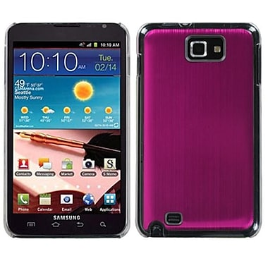 Insten® Cosmo Back Protector Case For Samsung Galaxy Note, Light Hot-Pink