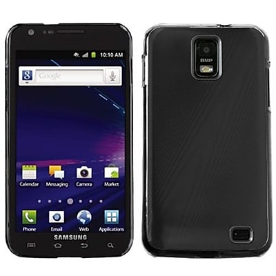 Insten® Back Case Cover For Samsung Galaxy S II Skyrocket i727; Black Cosmo