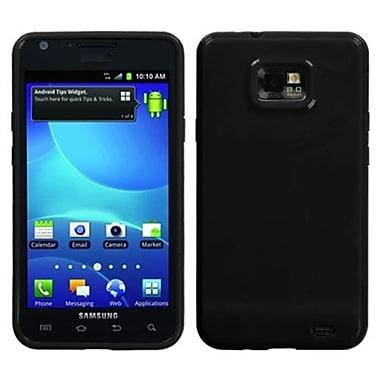 Insten® Argyle Candy Skin Case For Samsung I777 Galaxy S2, Solid Black
