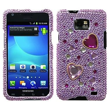 Insten® Diamante Phone Protector Case For Samsung I777 Galaxy S2, Love Crash