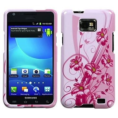Insten® Phone Protector Case For Samsung I777 Galaxy S2, Blooming Lily