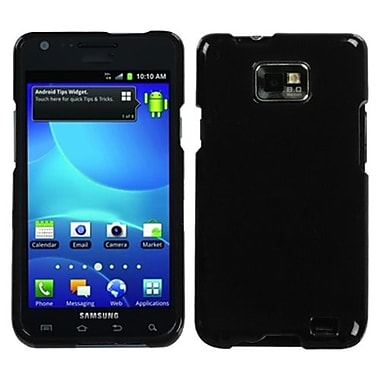Insten® Phone Protector Case For Samsung I777 Galaxy S2, Solid Black