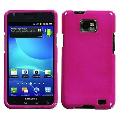 Insten® Phone Protector Case For Samsung I777 Galaxy S2, Solid Hot-Pink