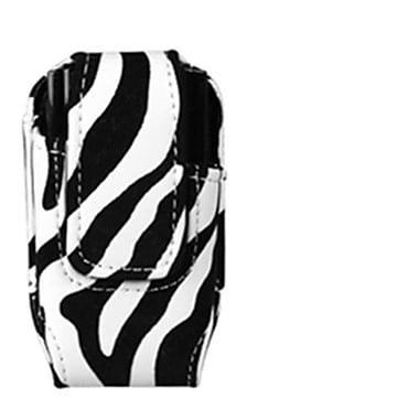Insten Vertical Pouch, Zebra Skin (1011500)