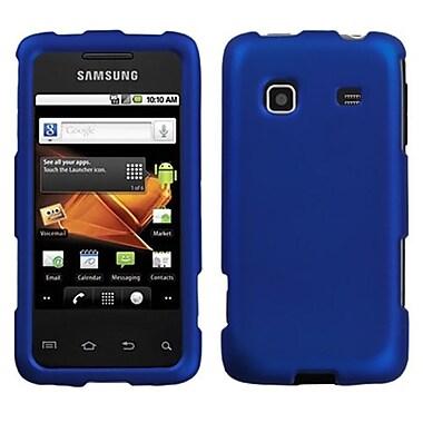 Insten Phone Protector Case For Samsung M820 Galaxy Prevail, Titanium Solid Dark Blue (1011766)