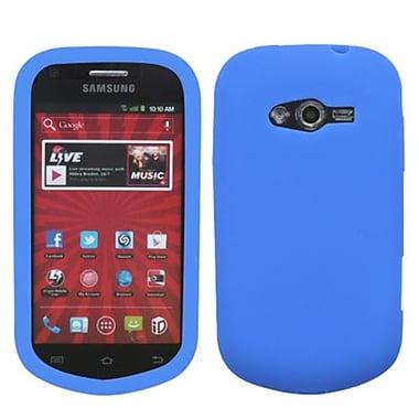 Insten® Solid Skin Case For Samsung M950 Galaxy Reverb, Dark Blue
