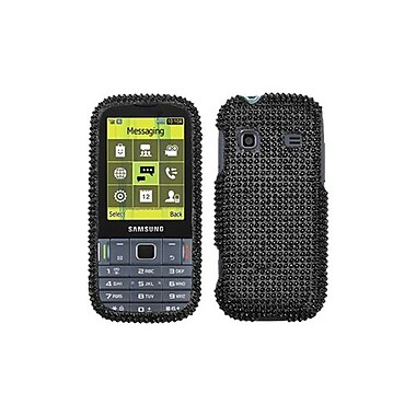 Insten® Diamante Protector Case For Samsung T379 Gravity TXT, Black