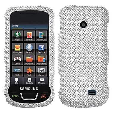Insten® Diamante Protector Case For Samsung T528G, Silver