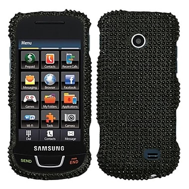 Insten® Diamante Protector Case For Samsung T528G, Black