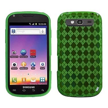Insten® Argyle Candy Skin Case For Samsung T769 Galaxy S Blaze 4G, Green Pane