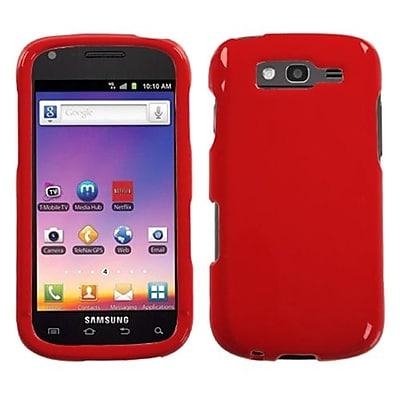 Insten® Phone Protector Case For Samsung T769 Galaxy S Blaze 4G; Solid Flaming Red