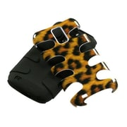 Insten® Skin Phone Protector Case For Samsung T989 Galaxy S2; Black Leopard/Fishbone
