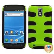Insten® Natural Fishbone Phone Protector Case For Samsung T989 Galaxy S2, Pearl Green