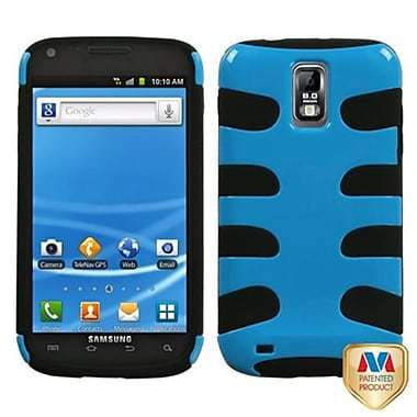 Insten® Fishbone Phone Protector Case For Samsung T989 Galaxy S2, Natural Turquoise