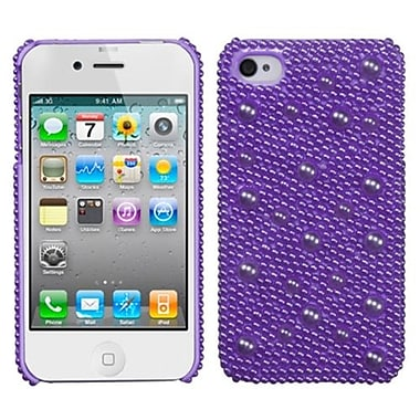Insten® Pearl Diamante Back Protector Covers F/iPhone 4/4S