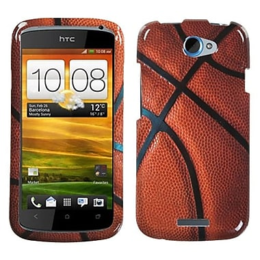 Insten® Protector Case For HTC-One S, Basketball