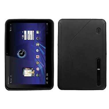Insten® Argyle Candy Skin Cover For Motorola MZ600 XOOM, Black S-Shape